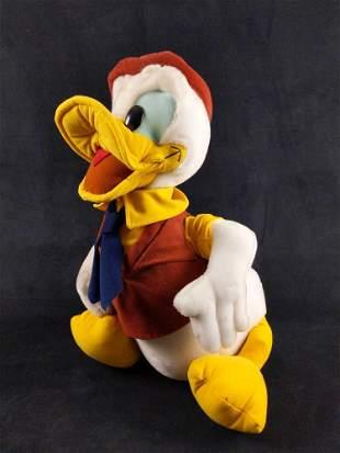 Rare 1989 Disney Parks Large Donald Duck Display Plush