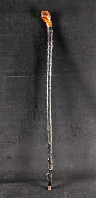 Vintage Wooden Walking Stick Cane