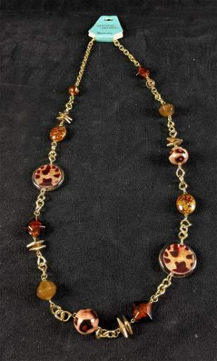 Long Necklace Spring Street Necklace New