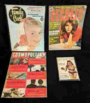 Vintage Racy Women's Magazines 1950s Magazines
