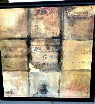 Very Large Canvas Abstract Print 9 Tiles