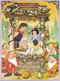 Disneys Snow White Seven Dwarfs Movie Poster