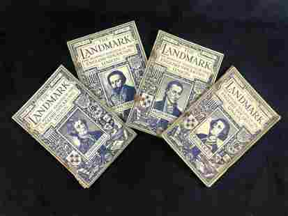 Lot Of 4 Vintage Landmark Monthly Magazine English
