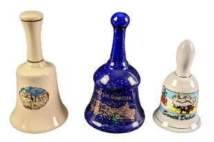 Three Vintage Mount Rushmore South Dakota Bells