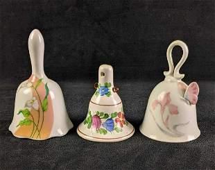 Decorative Flower Design Bells