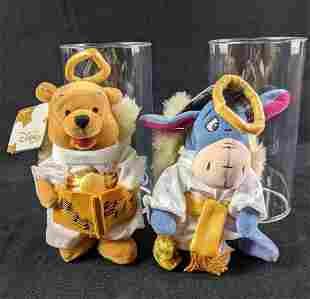 Winnie The Pooh and Eeyore Bean Bag Dolls