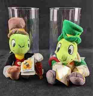 Jiminy Cricket Bean Bag Dolls