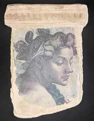 Plaster Reproduction Michelangelo Femminilita II Wall