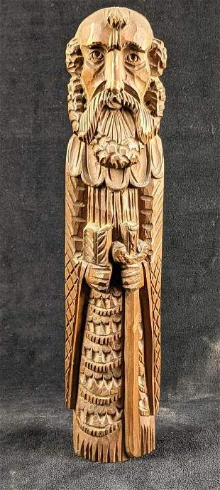 Wood Hand Carved Knight Sicily