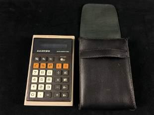 Vintage 1970's LLoyds Accumatic E321 Calculator With