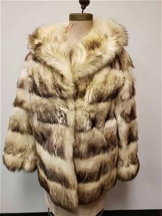 Designer Renee Fitch Fur Coat
