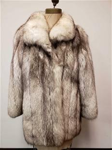 Pagliaro Pellicce Arctic Marble Fox Fur Coat