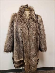Raccoon Fur Coat