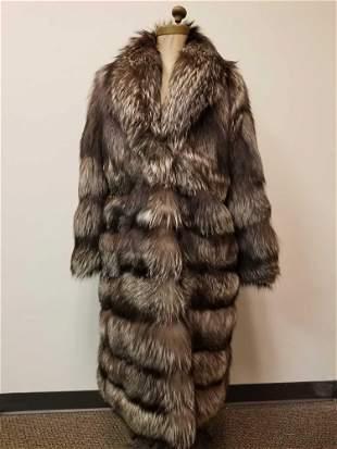 Vera Pellicia Full Length Fox Fur Coat