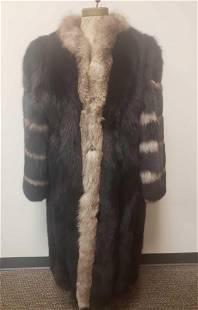 Reid Canadian Fox Fur Coat