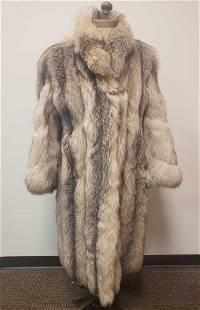 Leduc Fourrure and Mode Fox Fur Coat