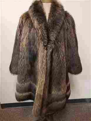 Domus Pellicceria Tanuki Fur Coat