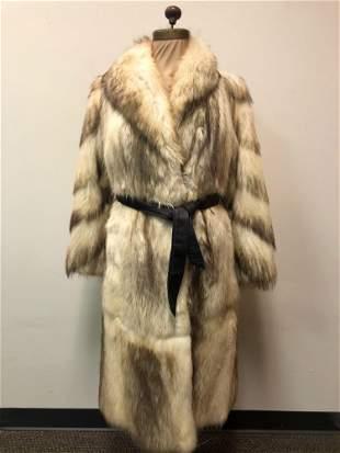 Full Length Fashion Fur Coat Fitch Saks Calgary