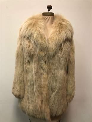 Fox Fur Coat Fox Sterling Wheat Italy
