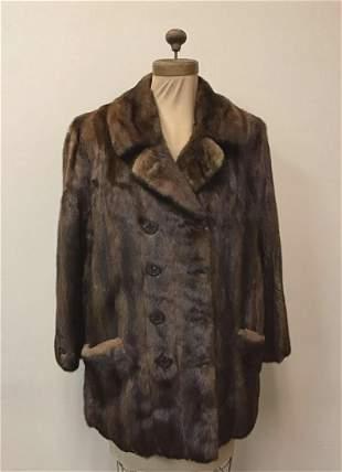 Mahogany Mink Jacket Fur Coat Bloomingdales