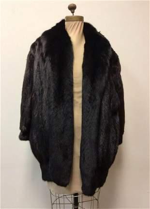 Fliers Furs Beverly Hills Mahogany Mink Fox Coat