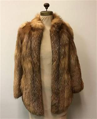 Hallmark Furs Red Fox Coat