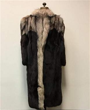 Crystal and Brown Fox Canadian Coat