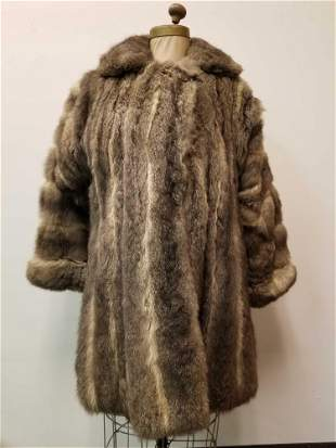 Midlength Wool Coat by Eeht Pelz