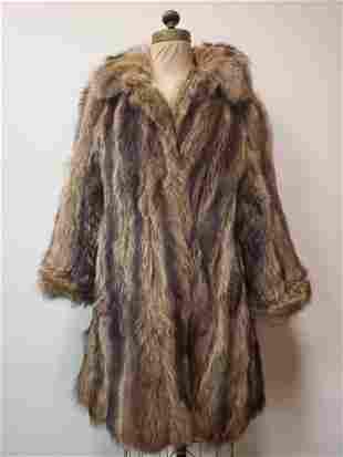 Vintage Fisher Mid Length Fur Coat