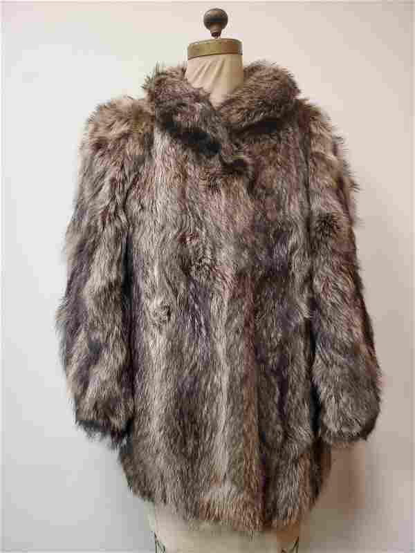 Vintage Fisher Fur Coat by Petzmoden Volkmann