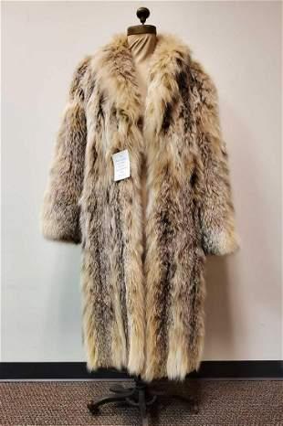 Full Length Marble Fox Coat