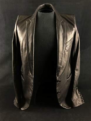Vintage LGB Woman's lamb Skin Leather Elongated Sleeves