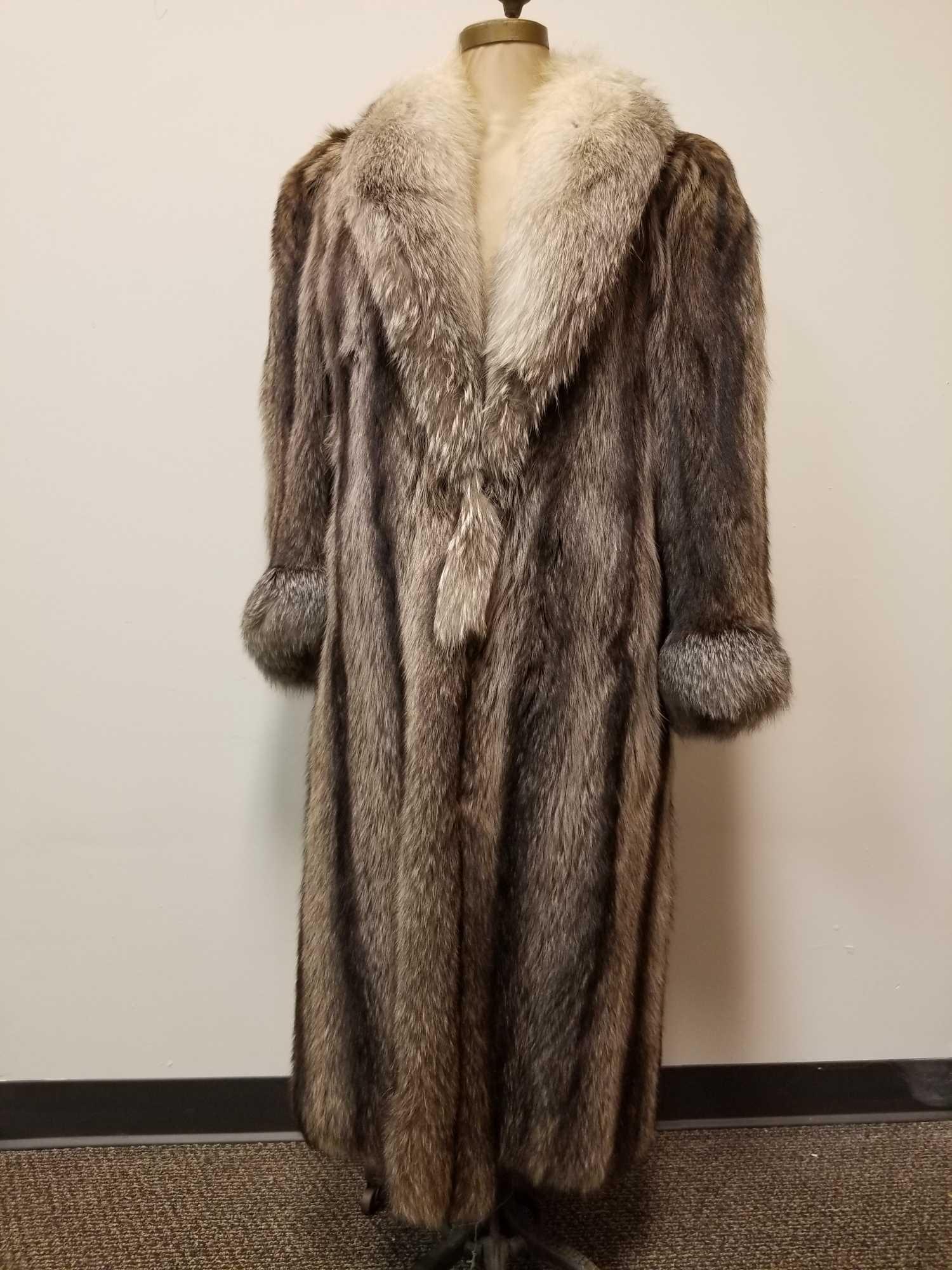 Diamond Distinctive Design Fur Coat