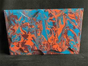 Original Signed Katharine L Harvard Psychedelic 2D