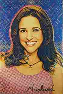Celebrity Portrait Nicolosi Julia Louis-Dreyfus W3