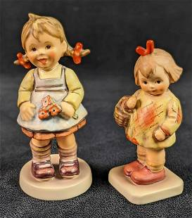 Goebel Hummel Club Figurines I Brought You A Gift And