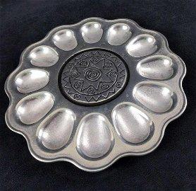 Wilton Armetale Reggae Deviled Egg Tray