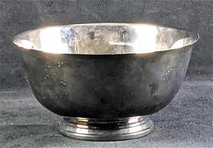 Vintage Oneida Silver Paul Revere Reproduction Bowl