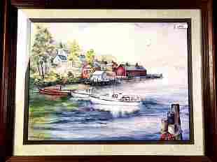 "Watercolor ""Lobster Hut"" Print"