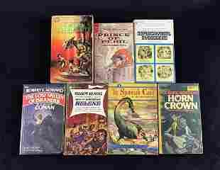 Vintage Robert Tralins Andre Norton Robert Howard book