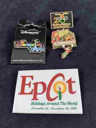 Disney Theme Park Exclusive Pins