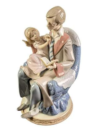 Lladro Retired Figurine Daddy's Girl Father's Day