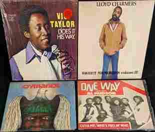 Vinyl LP Records Cymande Al Hudson Vic Taylor
