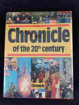 Chronicle of the 20th Century Hardcover