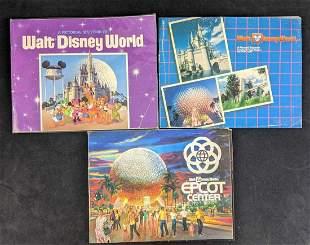 Vintage Walt Disney World Pictorial Souvenir Books