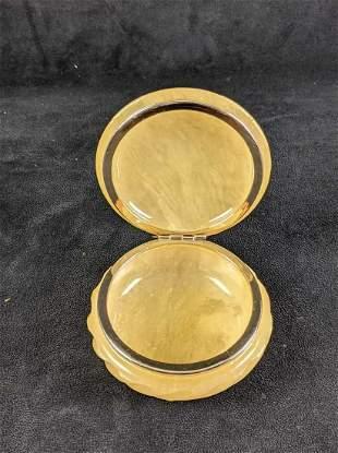 Vintage Alabaster Jewelry Box