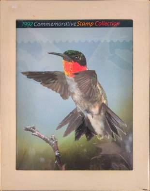 1992 Commemorative United States Postal Hardcover Book