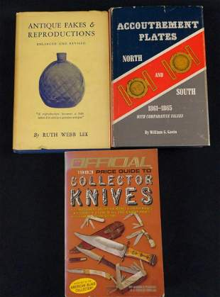 3 Vintage Collectable Guide Books