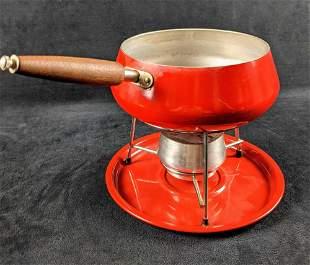 Vintage Fondue Set Mid Century Kitchen