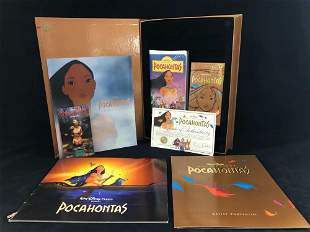 Disney Pocahontas VHS Exclusive Deluxe Video Edition